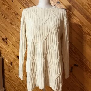 J. Jill Chenille Sweater Size Medium Petite